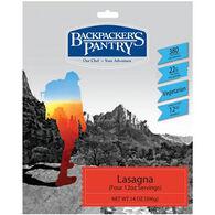 Backpacker's Pantry Lasagna - 4 Servings