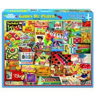 White Mountain Jigsaw Puzzle - The Games We Played