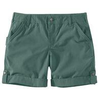 Carhartt Women's Rugged Flex Original Fit Ripstop Five-Pocket Short