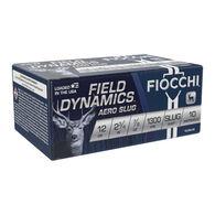 """Fiocchi Field Dynamics 12 GA  2.75"""" 7/8 oz. Slug Ammo (10)"""