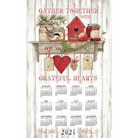 Kay Dee Designs 2021 Kitchen Sentiments Calendar Towel