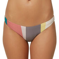 O'Neill Women's Sapa Stripe Classic Bikini Bottom