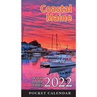 Maine Scene Coastal Maine 2022 Pocket Calendar