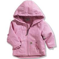 Carhartt Infant/Toddler Girls' Redwood Sherpa-Lined Jacket