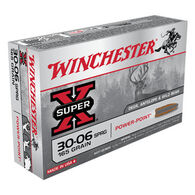 Winchester Super-X 30-06 Springfield 165 Grain Pointed Soft Point Rifle Ammo (20)