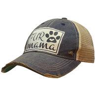 Vintage Life Women's Fur Mama Trucker Hat
