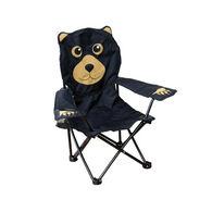 Wilcor Children's Born To Explore Camp-Series Black Bear Chair