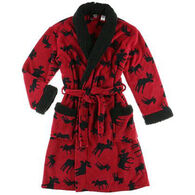 Lazy One Women's Classic Moose Robe