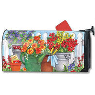 MailWraps Vintage Watering Can Magnetic Mailbox Cover
