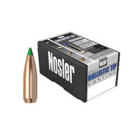 "Nosler Ballistic Tip 30 Cal. 150 Grain .308"" Spitzer Point / Green Tip Rifle Bullet (50)"