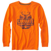 Carhartt Boys' Outhunt Them All Long-Sleeve T-Shirt
