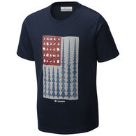 Columbia Boys' Badge N' Flag Short-Sleeve T-Shirt