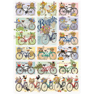 Outset Media Jigsaw Puzzle - Bicycles