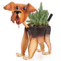 Georgetown Mini Airedale Planter