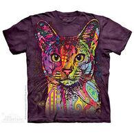 The Mountain Men's Abyssinian Cat Short-Sleeve T-Shirt