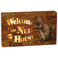 Rivers Edge Welcome To The Nut House LED Box