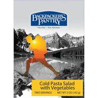 Backpacker's Pantry Cold Pasta Salad w/ Vegetables - 2 Servings