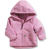 Carhartt Infant/Toddler Girl's Redwood Sherpa-Lined Jacket