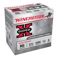 "Winchester Super-X High Brass 16 GA 2-3/4"" 1-1/8 oz. #6 Shotshell Ammo (25)"