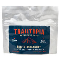 Trailtopia Gluten-Free Ramen Noodles - Beef Flavored Stroganoff - 1 Serving