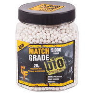 Crosman Game Face Match Grade Biodegradeable 0.20g. White BB (5000)