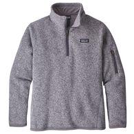Patagonia Girls' Better Sweater 1/4-Zip Long-Sleeve Fleece Shirt