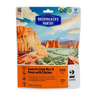 Backpacker's Pantry Santa Fe Style Rice & Beans w/ Chicken - 2 Servings