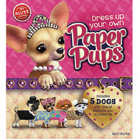 Klutz Dress Up Your Own Paper Pups Book Kit by April Chorba