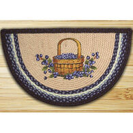 Capitol Earth Blueberry Basket Printed Slice Rug