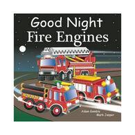 Good Night Fire Engines Board Book by Adam Gamble & Mark Jasper