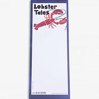 Hatley Little Blue House Lobster Tales Magnetic List Notepad