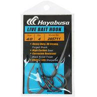 Hayabusa Live Bait XX Strong Saltwater Hook - 5-7 Pk.