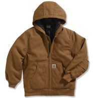 Carhartt Boy's Work Active Jac Taffeta Quilted-Lined Jacket