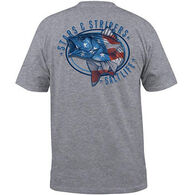 Salt Life Men's Stars and Stripers Pocket Short-Sleeve T-Shirt