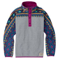 Burton Girl's & Boy's Spark Anorak Fleece Pullover Jacket