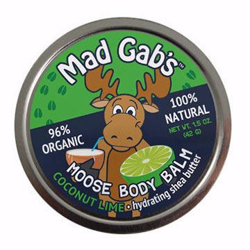 Mad Gab's Coconut Lime Moose Body Balm