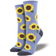 Socksmith Design Women's More Blooming Socks Crew Sock
