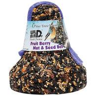 Pine Tree Farms Fruit Berry Nut & Seed Bird Bell