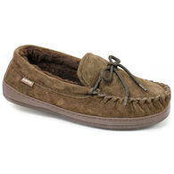 Lamo Men's Apres Fleece-Lined Suede Moccasin
