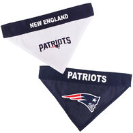 Pets First New England Patriots Home and Away Dog Bandana