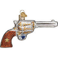 Old World Christmas Western Revolver Ornament