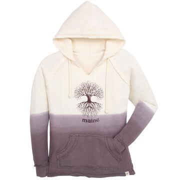 Lakeshirts Womens Blue 84 Annies Tree of Life Maine Sweatshirt