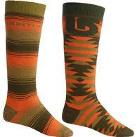 Burton Men's Weekend Sock, 2-Pack