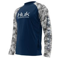 Huk Men's Subphantis Double Header Vented Long-Sleeve Fishing Shirt
