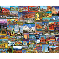 White Mountain Jigsaw Puzzle - Best Places in America