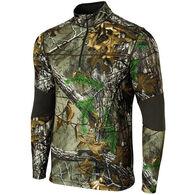 Terramar Men's Tracker Quarter-Zip Long-Sleeve Shirt