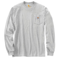 Carhartt Men's Relaxed Fit Heavyweight Hardhat Graphic Long-Sleeve T-Shirt