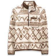The North Face Men's Printed Gordon Lyons 1/4-Zip Long-Sleeve Shirt