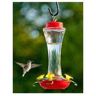 Audubon Trumpet Glass Hummingbird Feeder