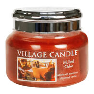 Village Candle Small Glass Jar Candle - Mulled Cider